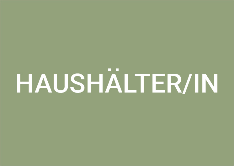Haushälter/in (m/w/d) 80-100%