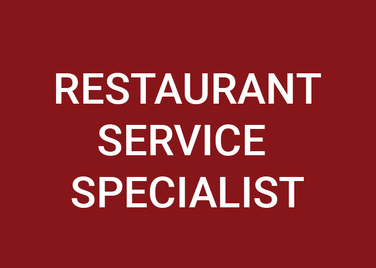 Restaurant Service Specialist (m/f/d) 100%