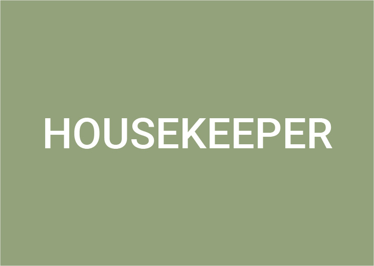 Housekeeper (m/w/d) 100%