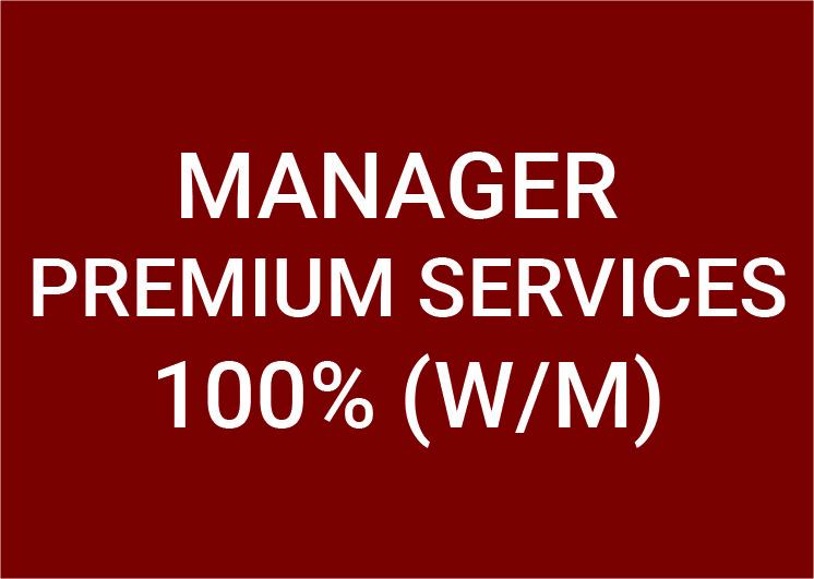 Manager Premium Services (m/w/d) 100%