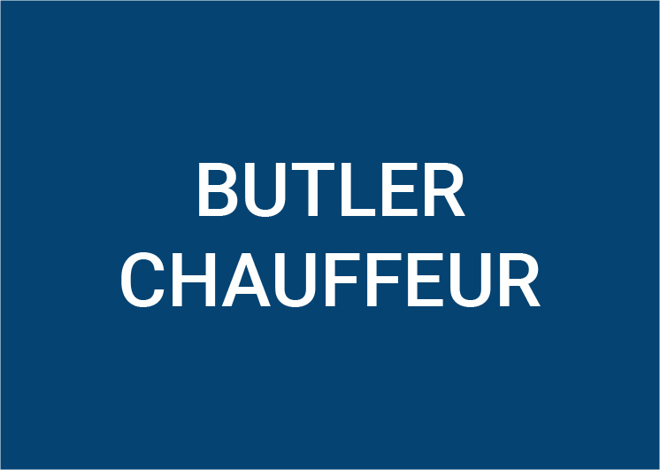 Butler and Driver (m/f/d) 100%