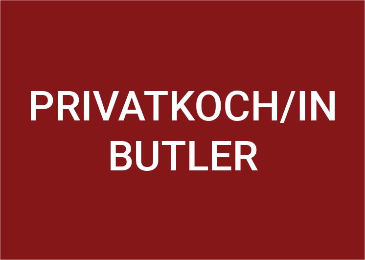 Privatkoch und Butler (m/w/d) 100%